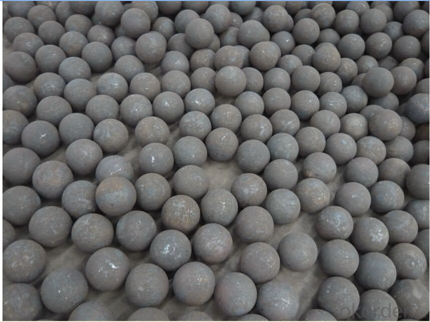 Forged Steel Grinding Ball DIA0.75''-DIA6'' with High Hardness and Good Wear-resistance