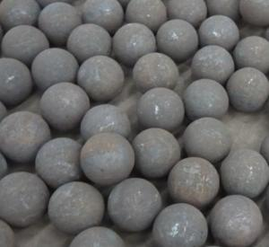 Forged Steel Grinding Media Ball with Low Breakage Rate High Well Abrasive Resistance for Mineral