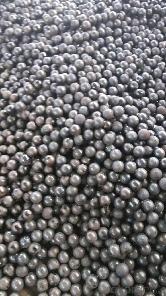 Wear Resistant Grinding Steel Ball with High Hardness Made in China for Mineral Processing