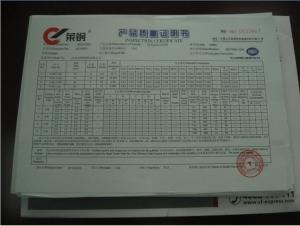 Forged Steel Grinding Ball with High Hardness HRC60-HRC65 & Dia0.75''-Dia6'' & ISO9001:2008
