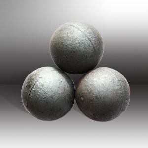 Forged and Casting Grinding Steel Ball with High Hardness Made in China for Mineral Processing and Cement Plan