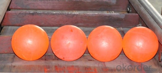 Forged Steel Media Grinding Media Ball with Top Quality Made in China for Mineral Processing and Cement Plant