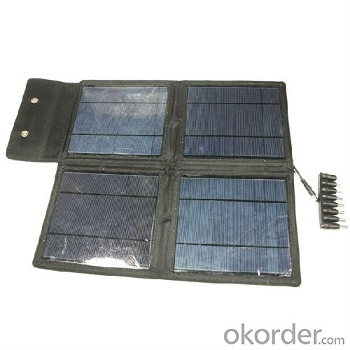 4*5w 20w solar panel charger bag