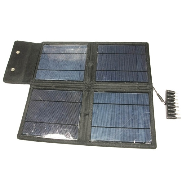 Best Price USB Flexible Solar Charger Foldable Solar Charger 20W Solar Panel 5V 2100mah For Mobile Phone Tablet PC Camera