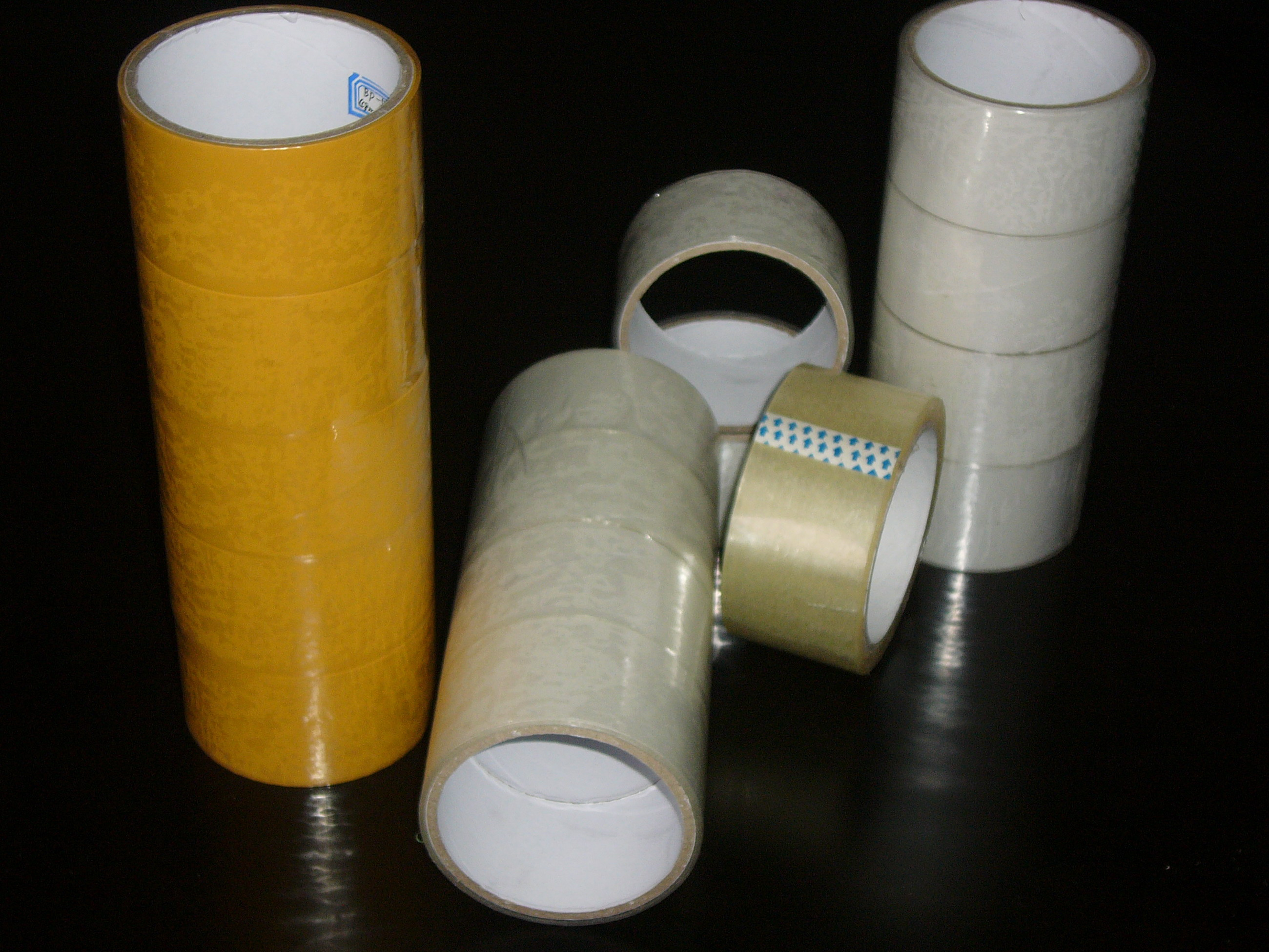 Clear Bopp Adhesive Tape Jumbo Roll