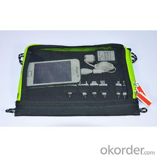 2014 New Portable Solar Charger Foldable Solar Charger Bag Solar Power Supply Pack for Smartphone Tablet PC MP4 Camera