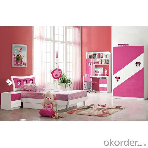 Hot Sale Children Bedroom Furniture Wood/Gloss Bedroom