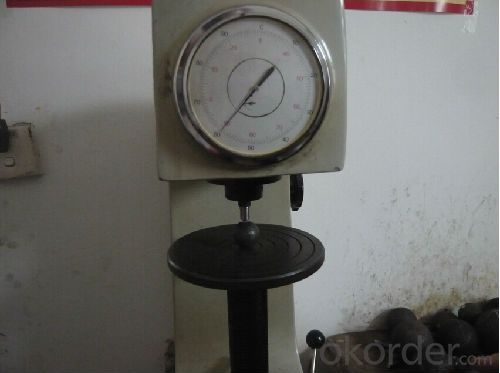 Hardness Test for Forged Steel Grinding Ball