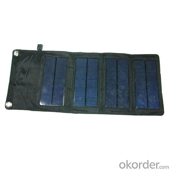 New Factory Direct Wholesale Prices 1000Mah USB Port Emergency Cell Phones Charger Portable Solar Charger 7W Solar Panel