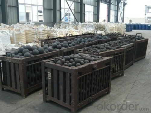 High Chrome Steel Casting Grinding Ball with High Hardness Top Quality for Cement and Mineral Processing