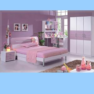 Comfortable Kids Bedroom Furniture Sets Princess Style
