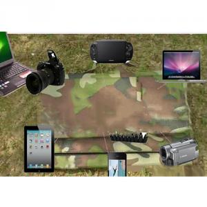 New 45W Camouflage Foldable Solar Charger USB Mobile Solar Charger 5v For Smartphone MP3 MP4 Dgital Camera 18V laptop