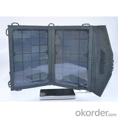 New 9W 5v Foldable Solar Charger USB Mobile Solar Charger For iPhone 4 4S iPhone 5 5S iPad 2 3 4 5 Samsung Galaxy S3 S4 S5