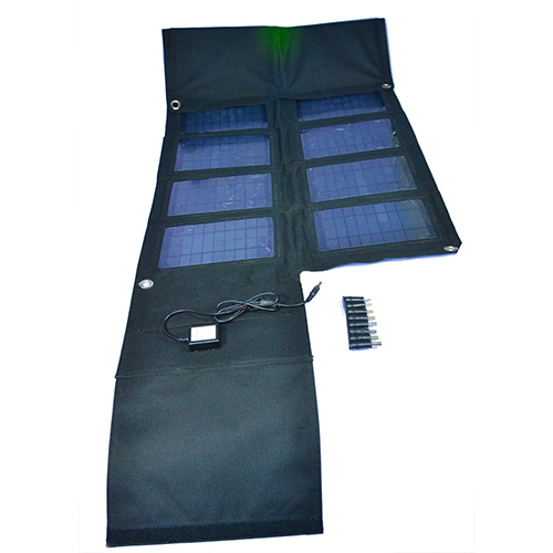 Hot Sale Mobile Solar Charger Foldable Solar Charger Optional 42W 2100mah 5v 2000mah For Smartphone or 18v For Laptop