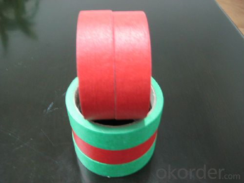 Low Tack Rubber Based Masking Tape