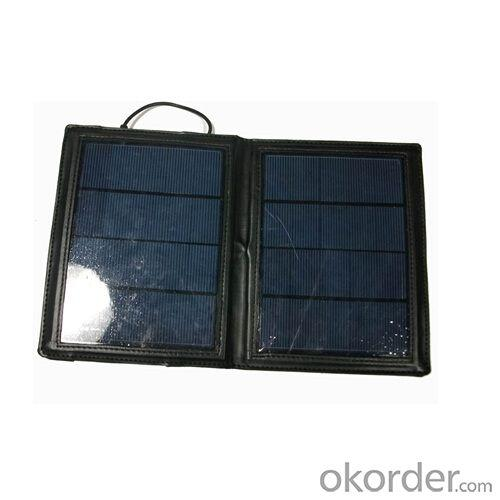 Wholesale Foldable Solar Charger Solar Bag 7W Solar Panel 5V 1000mah USB Solar Charger For Mobile Phone Tablet PC
