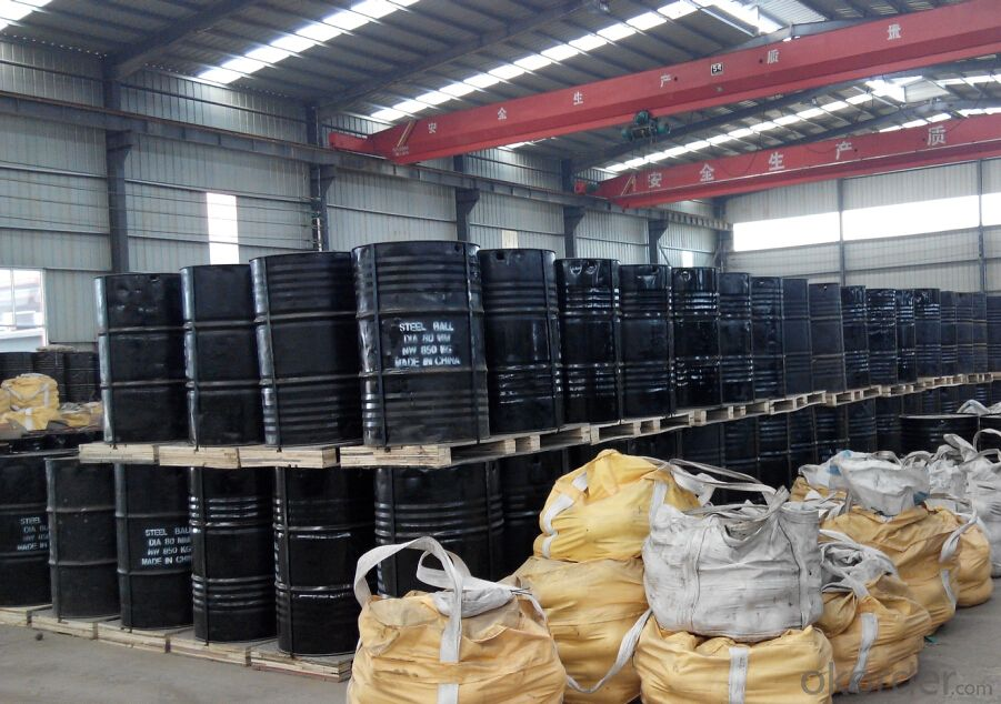 Dia20mm-Dia150mm High & Low Chrome Cast Grinding Media Ball Used for Cement Plant