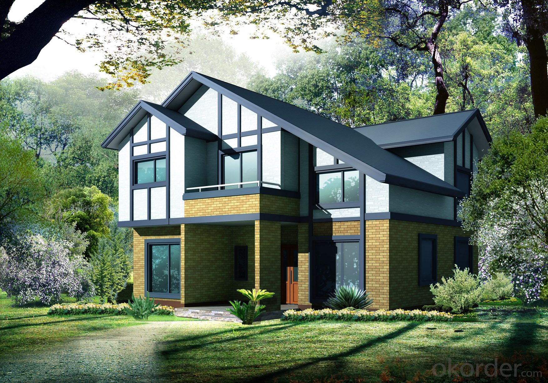 Prefabricated Houses Of Light Steel Structure System Modular Homes