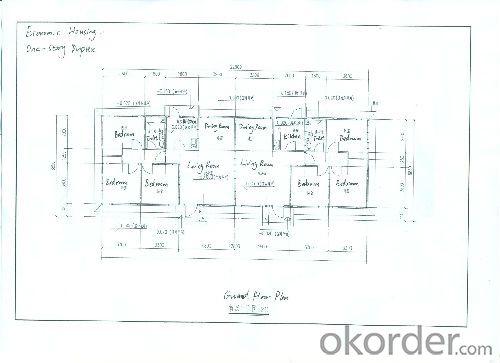 Cheaper Prefabricated Modular Houses With EPS/PU/Rockwool Sandwich Panel