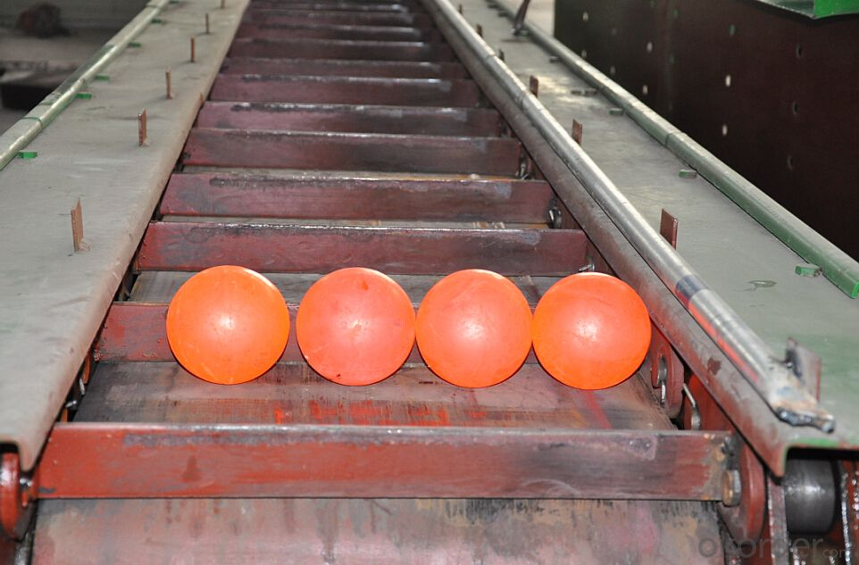 Forged Steel Grinding Ball with Dia0.75''-Dia6'' & Hardness HRC60-HRC65 & ISO9001:2008