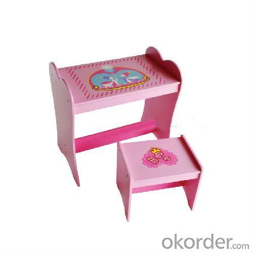 cartoon table chair set