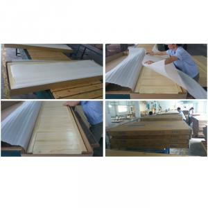 Modern Doulbe Beds Wood Children Furniture Sets