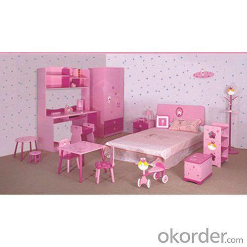 2014 Latest Room Furniture,Children Bedroom Set Blue Color For Boy Style
