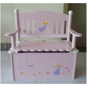 China Factory 2014 New Design Wooden Chair With Storage Cabinet Box
