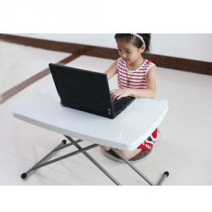 Adjustable Height Folding Table, Children Desks, Laptop Folding Table