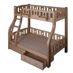 Modern Doulbe Beds With Bottom And Steps Drawer Cabinet Wood Children Furniture Sets