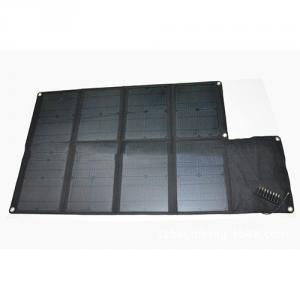 China Factory Mobile Phone Solar Charger 80W Solar Panel Charger 4400mah 5V 18V USB Camouflage Foldable Solar Charger