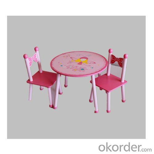 China Factory Fairy Round Table For Kids Children Cartoon Children Table For Study Homework Dinning