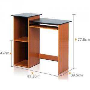 Computer Desk With Bookshelf, Wooden Computer Desk,Home Office Furniture