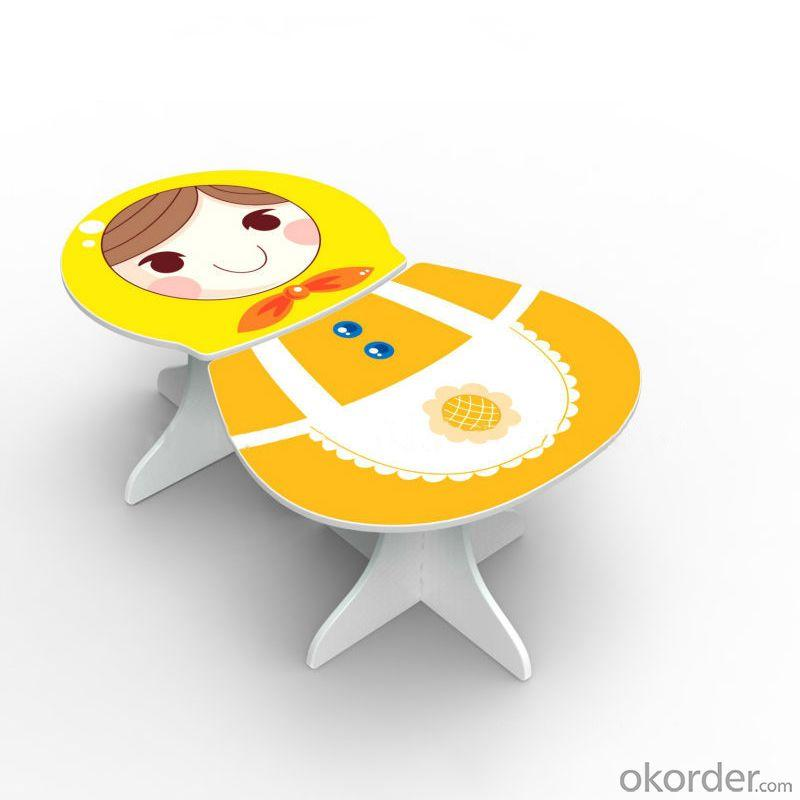 Children Furniture Sets Kids Matryoshka Writng Table