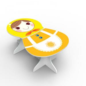 Children Furniture Sets Kids Matryoshka Writng Table