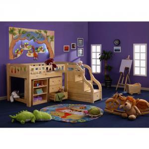 Children Bedroom Furniture Wood/Purple Bedroom Furniture/Gloss Bedroom