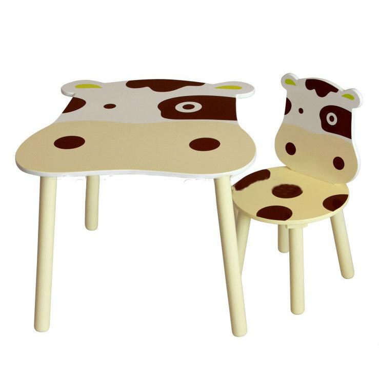 China Manufacturer Cowabunga Wooden Kids Furniture Set / Cabinet /Desk /Chair/Easel