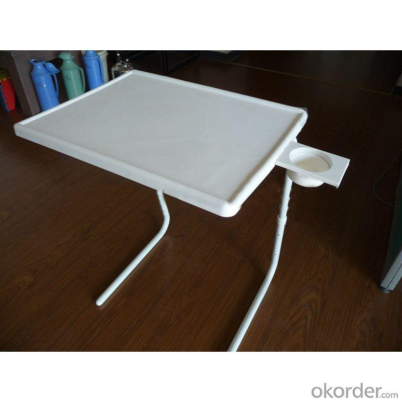 New Design Plastic Portable Table Mate With Cup Holder