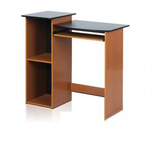 Computer Desk With Bookshelf, Wooden Computer Desk,Home Office Furniture