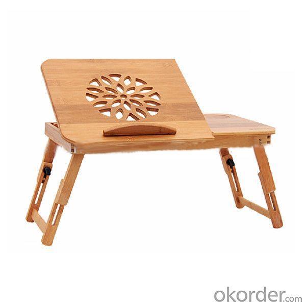 Folding Natural Bamboo Laptop Desk