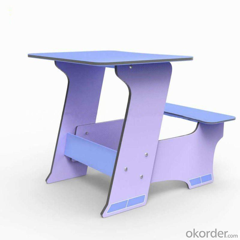 Hot-Sale Children Study Table Furniture Blue