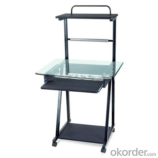 2014 High Quality Glass Computer Desk Office Furniture Sy-700E
