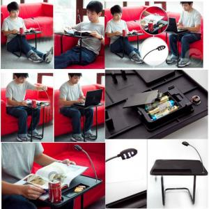 Adjustable Leisure Folding Table Mate