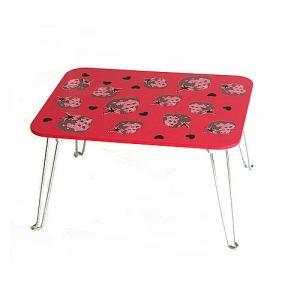 China Manufacturer Foldable Cartoon Children Table, Popular Carton Style Children Folding Wood Desk And Chair Set