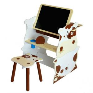 China Manufacturer Cowabunga Wooden Kids Furniture Set / Cabinet /Desk /Chair/Easel