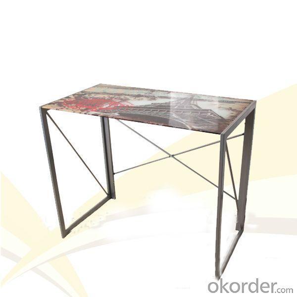 Glass Computer Desk New Design