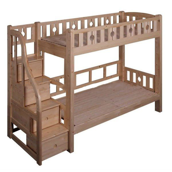 Kids Bunk Bed With Drawer Steps#Sp-C102D Set