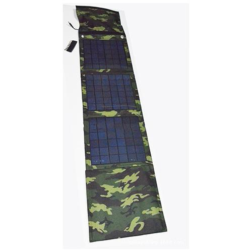 China Manufacturer Camouflage Foldable Solar Charger 18w Solar Panel 5V 18V USB For SmartPhone Tablet PC Laptop