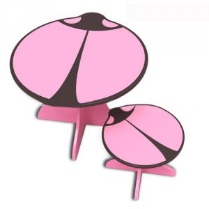 Kids Beetle Study Table And Chair Set