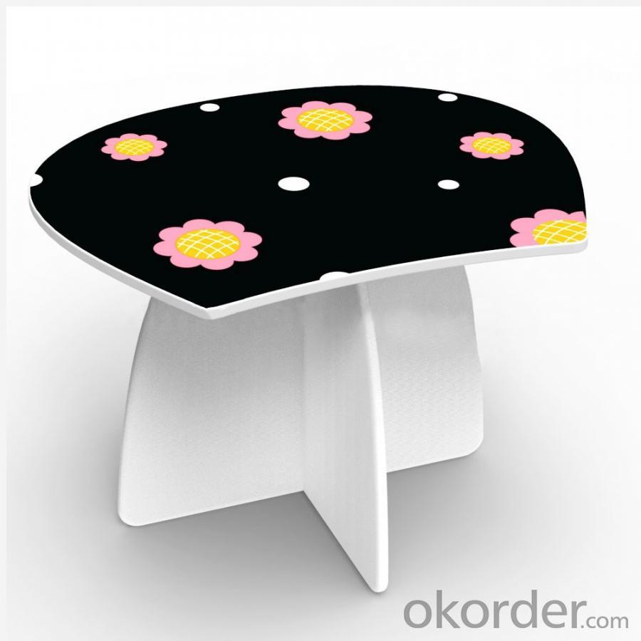 Russian Cute Girl Shape Table Furniture